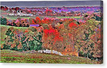 A Birds Eye View Canvas Print by Brian Graybill