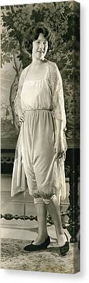 A Bloomers Display Canvas Print by Underwood Archives