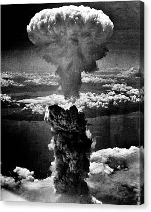 A-bomb Canvas Print by Benjamin Yeager