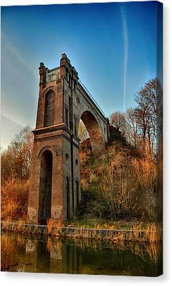 A Bridge No More Canvas Print by Mountain Dreams