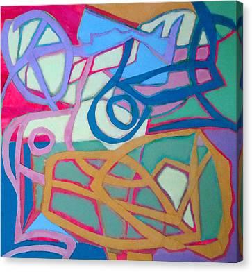 A Chord Canvas Print by Diane Fine
