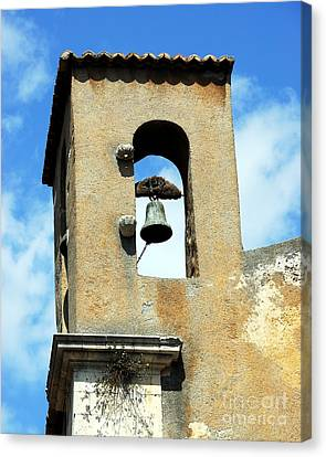 A Church Bell In The Sky 3 Canvas Print by Mel Steinhauer