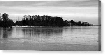 A Cold Winter's Day Canvas Print by Carolyn Ricks