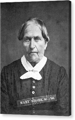 A Convicted Woman Canvas Print by Smith