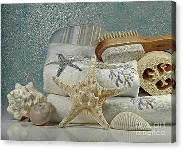 A Day Of Pampering At The Spa Canvas Print by Inspired Nature Photography Fine Art Photography