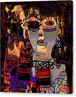 A Difficult Woman Canvas Print by Natalie Holland