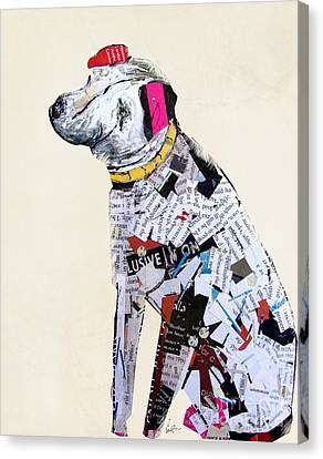 A Dogs Life Canvas Print by Bri B