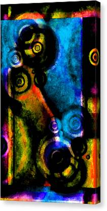 A Drop In The Puddle 2 Canvas Print by Angelina Vick