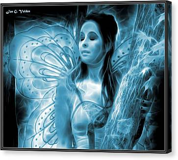 A Fairy Moment Canvas Print by Jon Volden