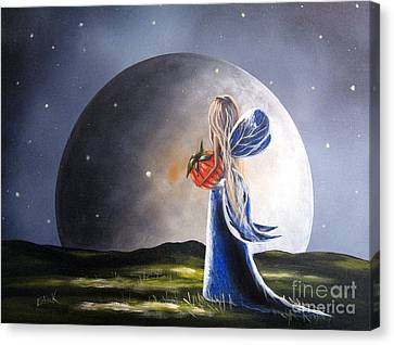 A Fairy Tale By Shawna Erback Canvas Print by Shawna Erback