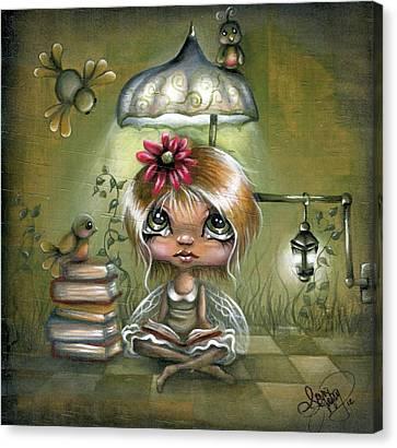 A Fairyland Novel Canvas Print by Robin Sample