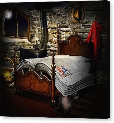 A Fairytale Before Sleep Canvas Print by Alessandro Della Pietra