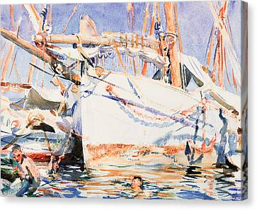 A Falucho Canvas Print by John Singer Sargent