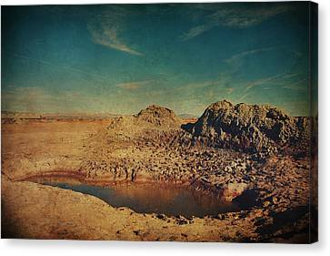 A Far Off Place Canvas Print by Laurie Search