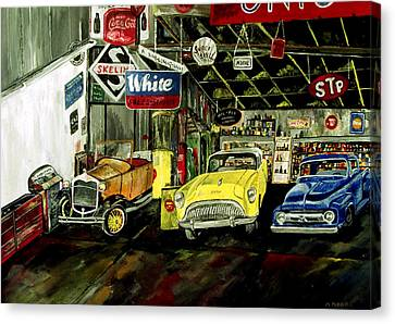 A Fine Time  Canvas Print by Mark Moore