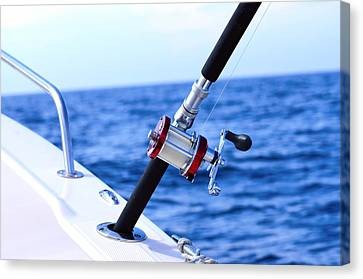 A Fishing Rod  Canvas Print by Toppart Sweden