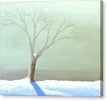 A Frosty Fog Canvas Print by Erin Scott