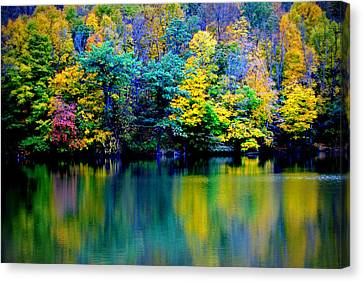 A Glorious Autumn Canvas Print by Jon Van Gilder