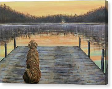 A Golden Moment Canvas Print by Susan DeLain
