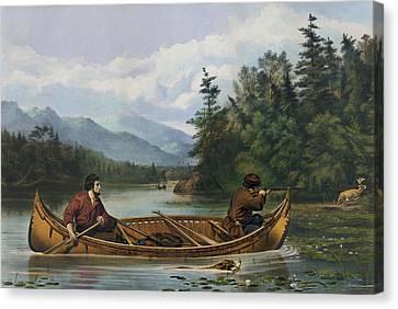 A Good Chance Circa 1863 Canvas Print by Aged Pixel