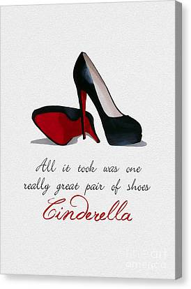 A Great Pair Of Shoes Canvas Print by Rebecca Jenkins