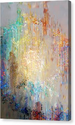 A Heart So Big - Abstract Art Canvas Print by Jaison Cianelli