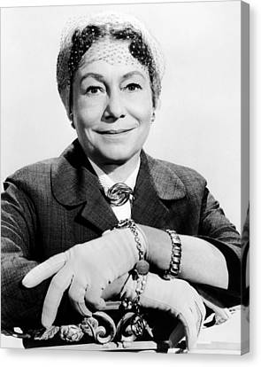 A Hole In The Head, Thelma Ritter, 1959 Canvas Print by Everett
