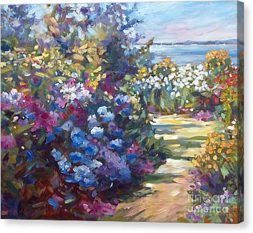 A Lazy Summer Day Canvas Print by David Lloyd Glover
