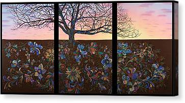 A Life's Journey Canvas Print by James W Johnson