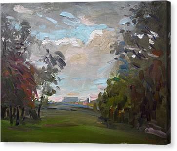 A Little Break From The Rain Canvas Print by Ylli Haruni