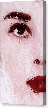 A Little Teardrop Canvas Print by Steve K