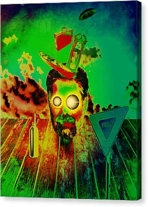 A Long Strange Trip Canvas Print by Anthony Caruso