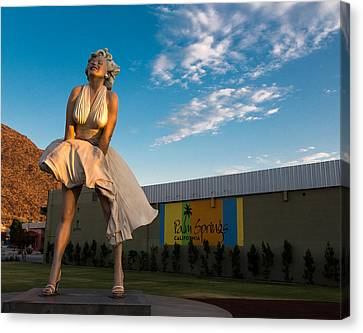 A Marilyn Morning Canvas Print by John Daly