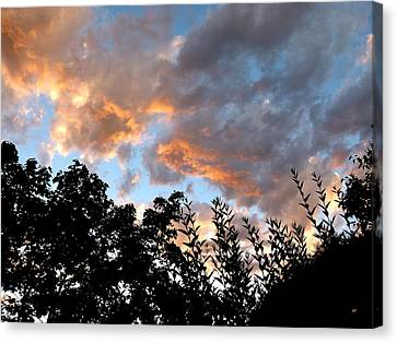 A Memorable Sky Canvas Print by Will Borden