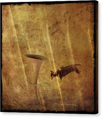 A Mirage Of Music Canvas Print by Suzy Norris