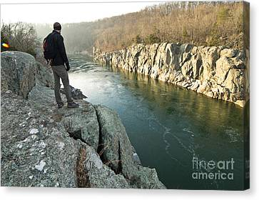 A Morning At Mathers Gorge Canvas Print by Benjamin Reed