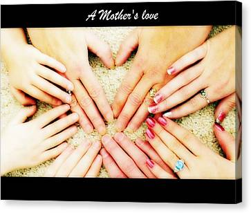 A Mother's Love Canvas Print by Michelle Frizzell-Thompson