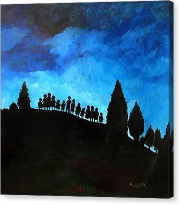 A New Dawn Rising Canvas Print by Patricia Brintle