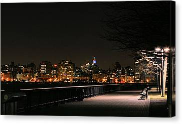 A Night In The Park Canvas Print by JC Findley