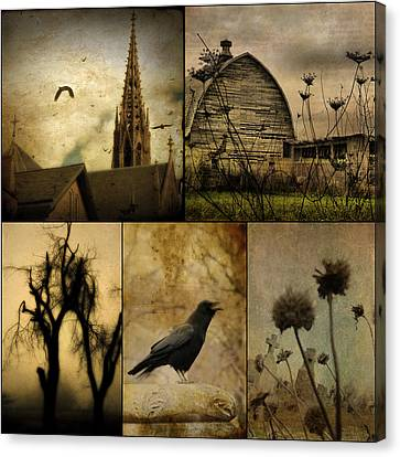 A Page  Canvas Print by Gothicrow Images