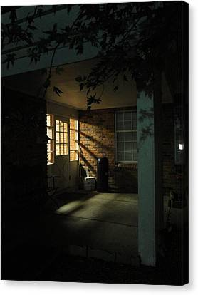 A Peaceful Corner Entrance Canvas Print by Guy Ricketts