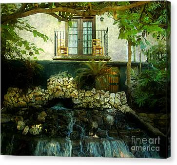 A Peaceful Night  Canvas Print by Peggy  Franz