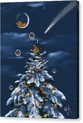 A Perfect Present Canvas Print by Veronica Minozzi