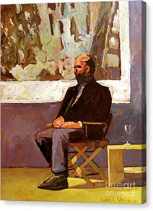 A Peter Doig Interview Canvas Print by Charlie Spear