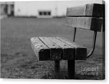 A Place To Think Canvas Print by Barbara Bardzik
