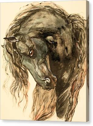 A Prince Canvas Print by Bj Redmond