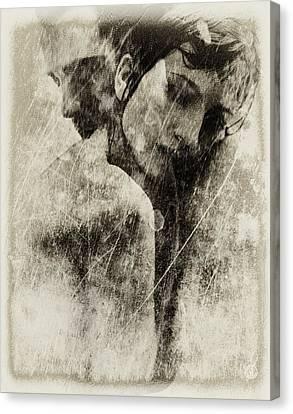 A Rainy Day We Need Closeness Canvas Print by Gun Legler