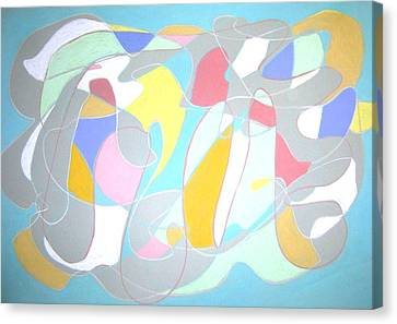 A Reasonable Composition Canvas Print by Esther Newman-Cohen
