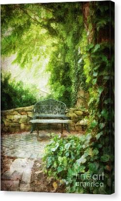 A Restful Retreat Canvas Print by Lois Bryan