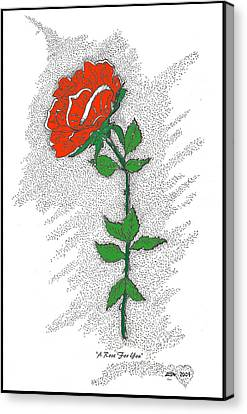A Rose For You Canvas Print by Glenn McCarthy Art and Photography